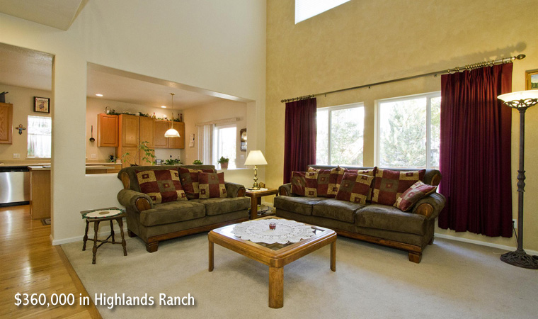 $360,000 in Highlands Ranch