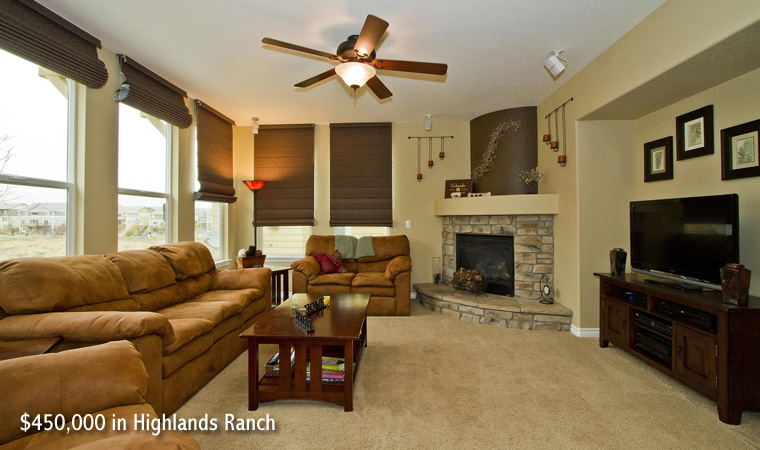 $450,000 in Highlands Ranch