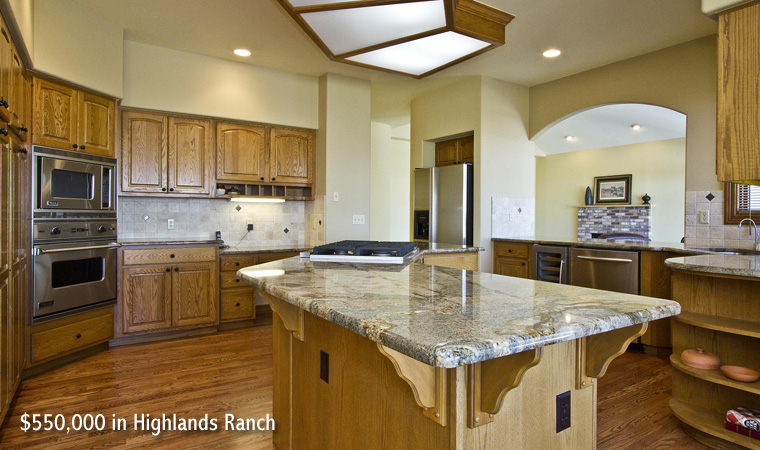 $550,000 in Highlands Ranch